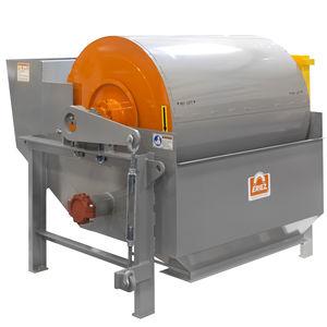 Trommel-Magnet-Abscheider / für Flüssigkeiten / Feststoff / Nass