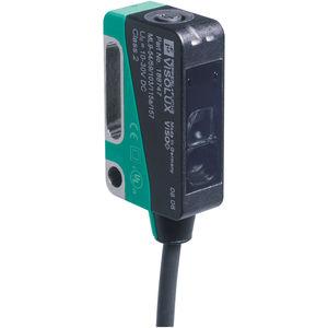 Optoelektronischer Sensor / Reflex-Lichtschranke / rechteckig / zylindrisch / Infrarot