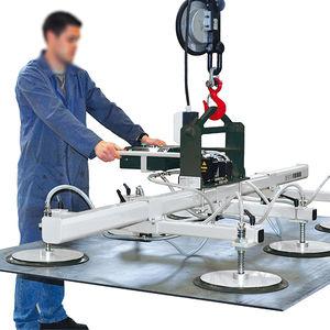 Vakuum-Hebegerät / für flache Werkstücke / für Blech / für Industrieanwendungen / für Flugzeugbau