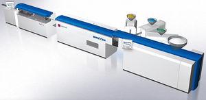 Extrusionsanlage zur Tubenherstellung / Rohr / für PP / Mehrschicht