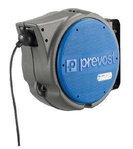 Aufwickler für Elektrokabel / einziehbar / drehbarer / stoßgesichert