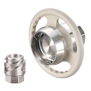 Schnellkupplung / gerade / hydraulisch / Edelstahl