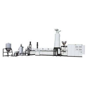 Kunststoffrecyclings-Extrusionsanlage / für PP / für HDPE / für LDPE