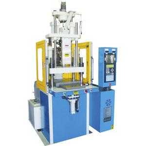 vertikale Spritzgießmaschine / hydraulisch / servohydraulisch / für PVC