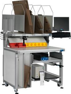 Industriearbeitsplatz / ergonomisch / Modular / mobil