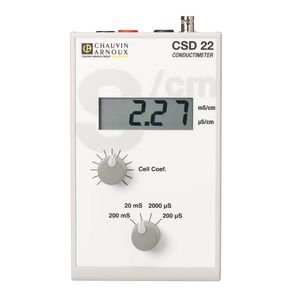 tragbares Leitfähigkeitsmessgerät / digital / Wasser