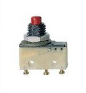 Tast-Mikroschalter / mehrpolig / elektromechanisch / Schnapp