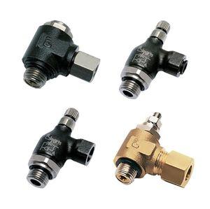 hydraulischer Anschluss / Schraub / Winkel / Metall