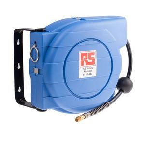 Aufwickler für Rohre / Federdruck / wandmontiert / für Luft
