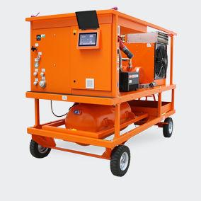 mobiles SF6-Gas-Servicegerät