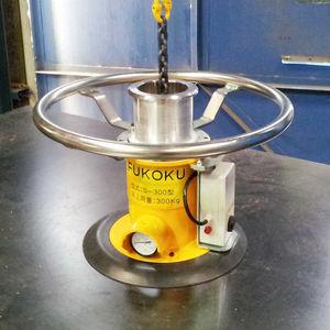 Vakuum-Hebegerät / für Blech / pneumatisch / gesichert / horizontal