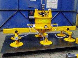 Vakuum-Hebegerät / für Blech / für Industrieanwendungen / für das Bauwesen / pneumatisch