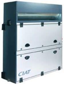 wandmontierte Luftaufbereitungszentrale / horizontal / vertikal / mit Abwärmenutzung