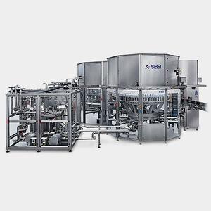 Getränkeabfüllmaschine / für PET-Flaschen / Mehrkopf / mit Massendurchflussmesser