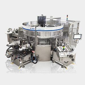automatische Etikettiermaschine / für selbstklebende Etiketten / Hotmelt / Kaltleim