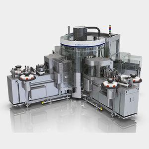 automatische Etikettiermaschine / Hotmelt / für Flaschen / für die Getränkeindustrie