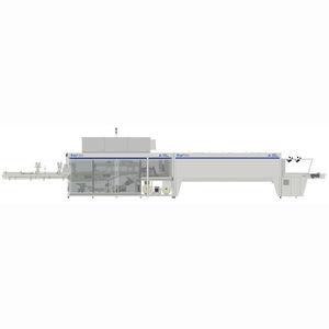 Schrumpffolienverpackungsmaschine durch Heißversiegelung / automatisch / für PET-Flaschen / für Dosenhandling