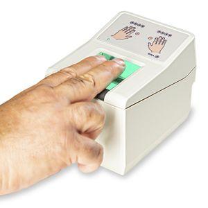 Fingerabdruckscanner mit optischer Sensor