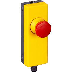 Pilzdrucktaster / Not-Halt / Kunststoff / Rücksetz