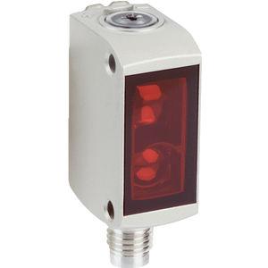 Optoelektronischer Sensor / mit Hintergrundausblendung / Reflex-Lichtschranke / Einweg / rechteckig
