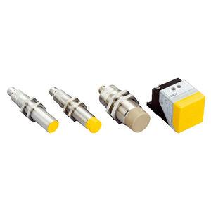Sicherheits-Näherungsschalter / induktiv / zylinderförmig / rechteckig