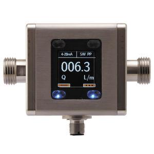 elektromagnetischer Durchflussmesser / für Flüssigkeiten / ultrakompakt / Metallrohr