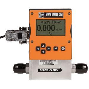 massisch/thermischer Durchflussmesser / für Gas / digital / Inline