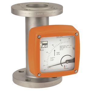Schwebekörper-Durchflussmesser / für Flüssigkeiten / Analogausgang / Metallrohr