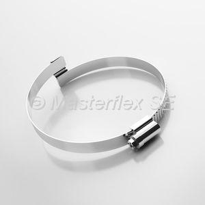 Stahlschlauchschelle / Brücken / Band / korrosionsbeständig