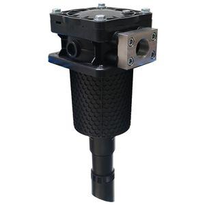 Patronen-Filtergehäuse / für Flüssigkeiten / Kunststoff / korrosionsbeständig