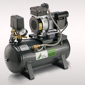 Luftkompressorstation / Kolben / ölfrei