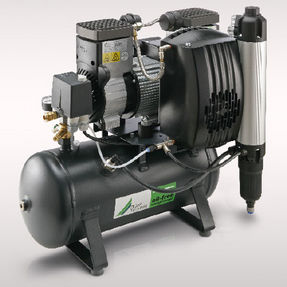 Luftkompressorstation