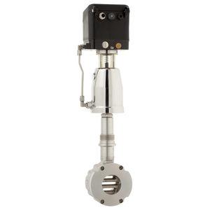Kolbenantriebs-Ventil / elektro-pneumatisch / pneumatisch gesteuert / zum Absperren