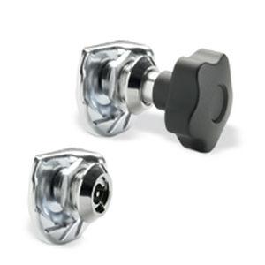 Nockenverschluss / mit Hebel / Stahl / Zink