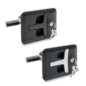 Verschluss mit Schlüssel / Stahl / Zink / verzinkter Stahl