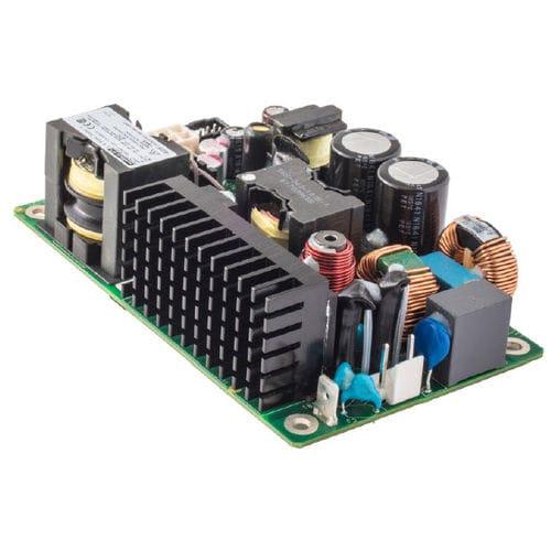 AC/DC-Stromversorgung / 1U / kompakt / mit Leistungsfaktorkorrektur PFC