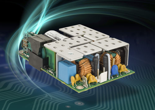 AC/DC-Stromversorgung / Einfachausgang / 1U / mit Leistungsfaktorkorrektur PFC