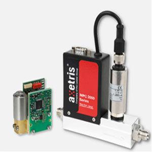 Durchflussregler / thermisch / Massenstrom / für Gas