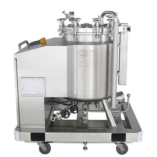 Edelstahlbecken / zylinderförmig / Prozess / für Lebensmittelanwendungen