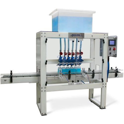 Abfüllanlage für die chemische Industrie / für Flüssigkeiten / für korrosive Produkte / für Gas