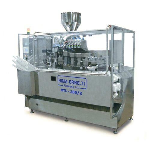 Füll und Verschließmaschine / für Rohre