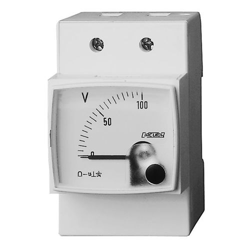 analoges Voltmeter / DIN-Schienen / DC