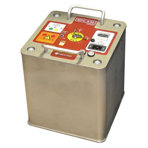 Spannungsmessgerät / Erdungswiderstand / AC-Strom / Akku
