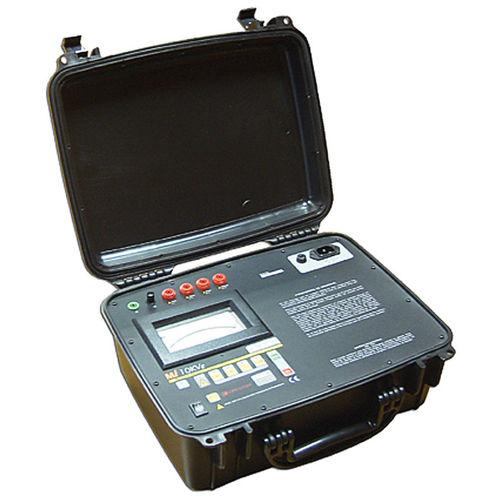 digitales Ohmmeter / tragbar / Hochspannung