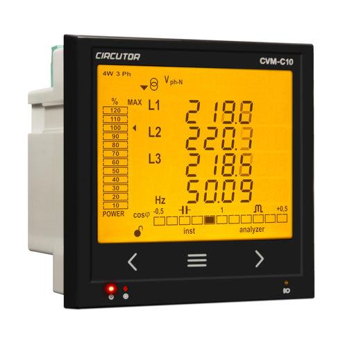 Analysator / Netz AC / Leistung / Spannung / integrierbar