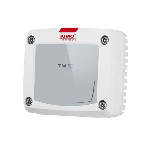 Pt100-Temperatursensor / für Wandmontage / mit Digitalanzeige / mit Analogausgang