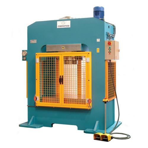 elektrohydraulische Presse / Form / für Produktion / Säulen