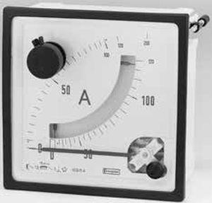 Analog-Amperemeter / plattenmontiert / Maximeter