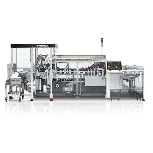 Toplader-Kartonierer / für die medizinische Industrie / automatisch / kontinuierlicher Betrieb