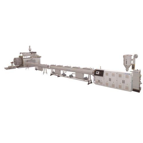 Extrusionsanlage für Hohlwandrohre / Rohr / für PP / für HDPE